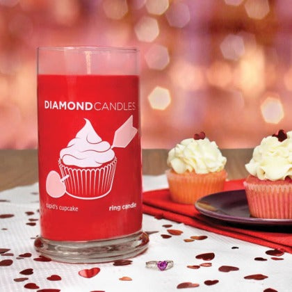 Cupid's Cupcake Ring Candle