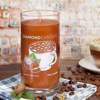 Hazelnut Macchiato Ring Candle