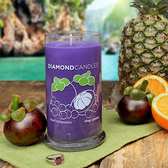 Island Mangosteen Ring Candle