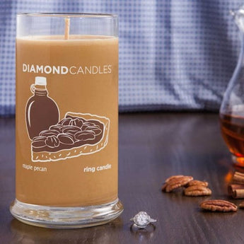 Maple Pecan Ring Candle