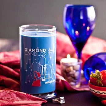 Midnight Kiss Ring Candle