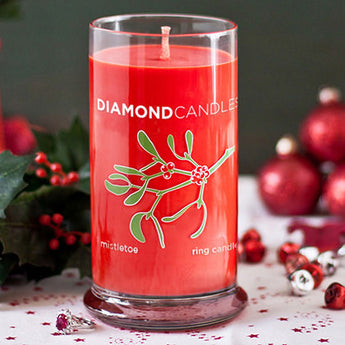 Mistletoe Ring Candle