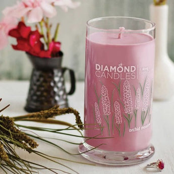 Orchid Meadow Ring Candle