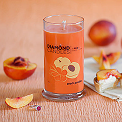 Peach Paradise Ring Candle