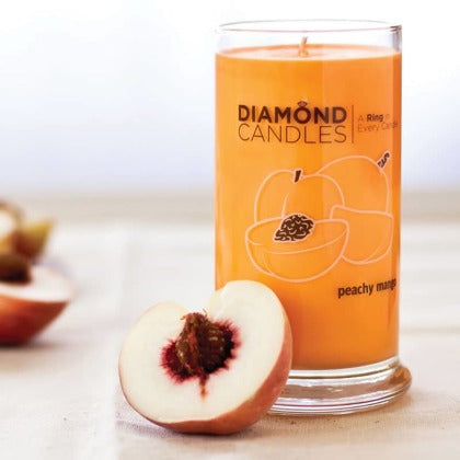 Peachy Mango Ring Candle