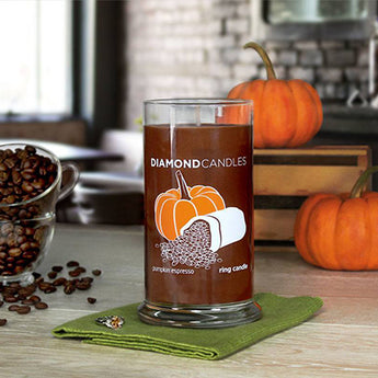 Pumpkin Espresso Ring Candle