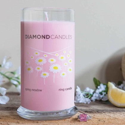 Spring Meadow Ring Candle