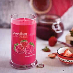 Strawberry Bliss Ring Candle