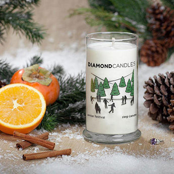 Winter Festival Ring Candle