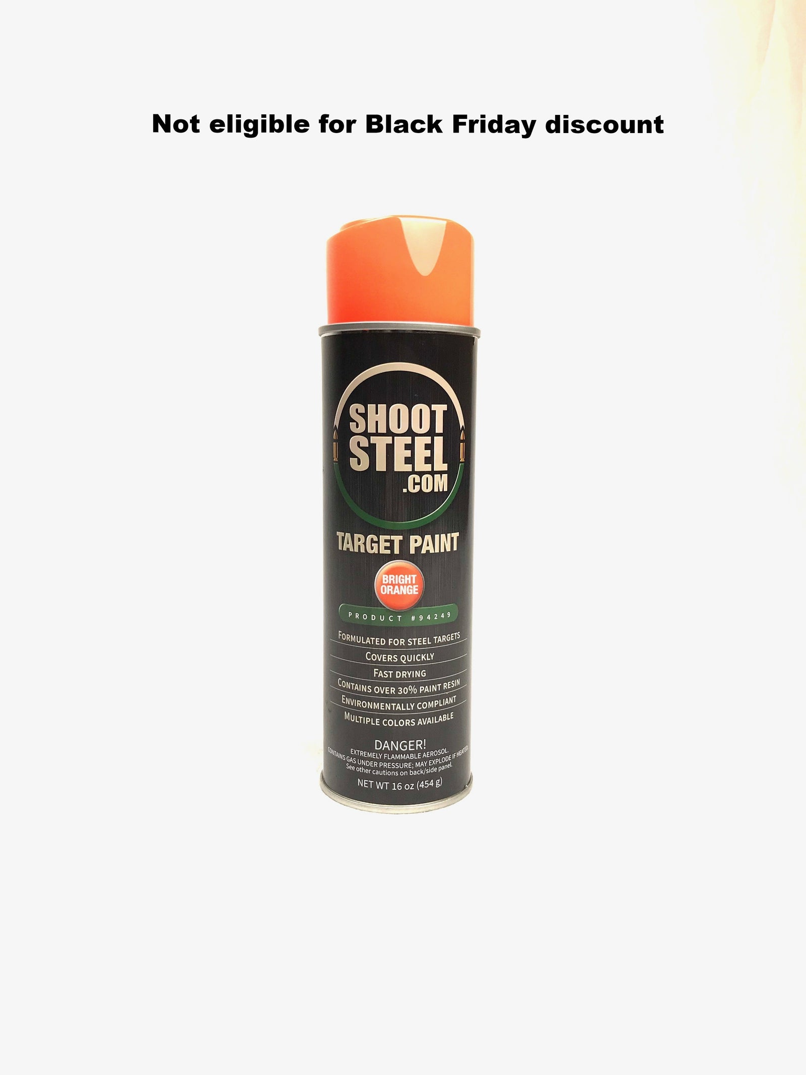 Shoot Steel Target Paint - Orange