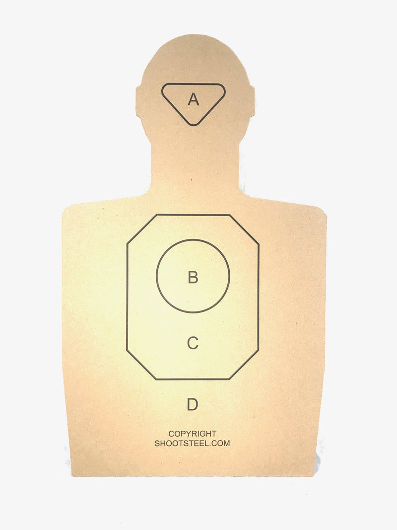 ShootSteel.com Training Targets - Pack of 25
