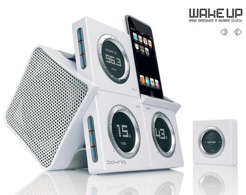 Boynq  - Wake-Up (White), Accessories, BOYNQ, BaRRiL - BaRRiL