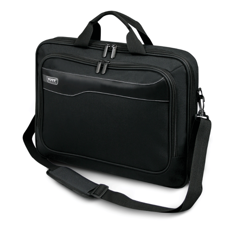 "PORT Designs - Hanoi Clamshell 15.6"" Laptop Bag - Black, Accessories, Port, BaRRiL - BaRRiL"