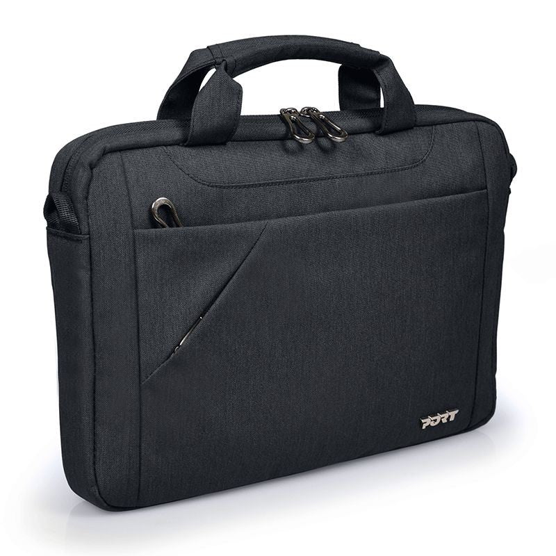 "PORT Designs - Sydney Toploading Laptop Bag - 15.6"" - Black, Accessories, Port, BaRRiL - BaRRiL"