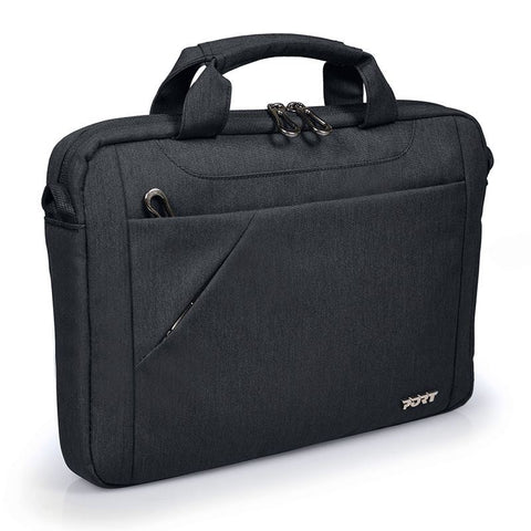 "PORT Designs - Sydney Toploading Laptop Bag - 10-12"" - Black, Accessories, Port, BaRRiL - BaRRiL"