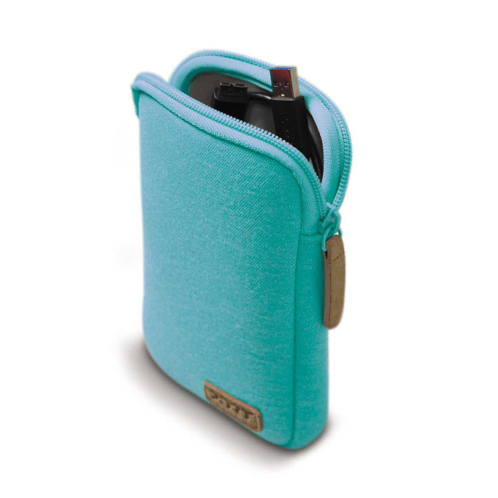 "PORT Designs - Torino Universal Pouch - to fit 2.5"" Hard Drive - Turquoise, Accessories, Port, BaRRiL - BaRRiL"