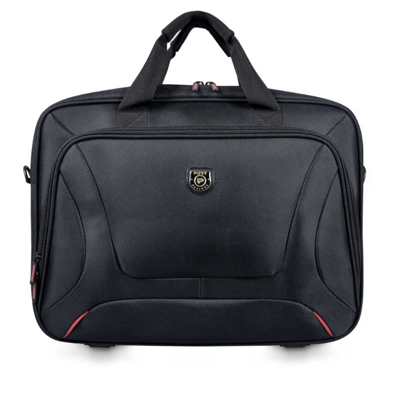"PORT Designs - Courchevel Top Loading  15.6"" Laptop Bag - Black, Accessories, Port, BaRRiL - BaRRiL"