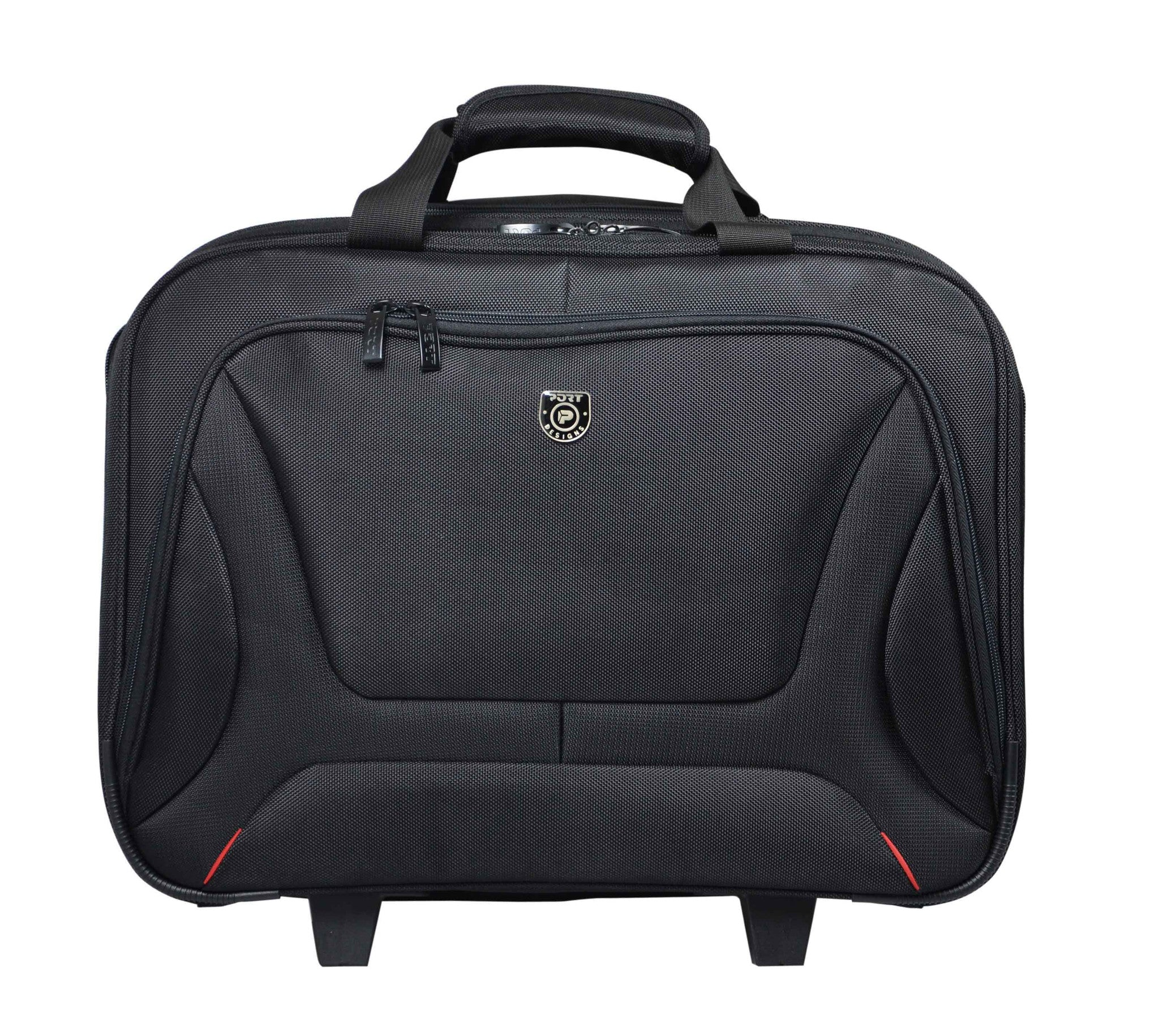 "PORT Designs - Courchevel Trolley/Roller Bag  15.6""- Black, Accessories, Port, BaRRiL - BaRRiL"