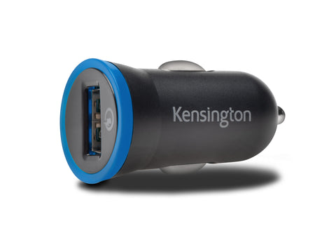 Kensington PowerBolt 2.4 Car Charger (USB) with QuickCharge 2.0, Accessories, Kensington, BaRRiL - BaRRiL