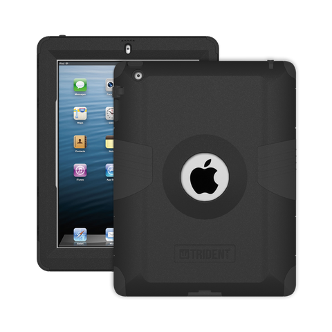Trident Case Kraken Case Apple iPad 2/3/4 - Black