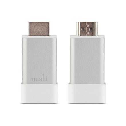 Moshi HDMI To VGA Adapter (With Audio) - Silver | BaRRiL