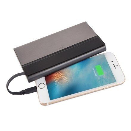 Moshi Ion Bank 10K Portable Battery - Gunmetal Gray | BaRRiL