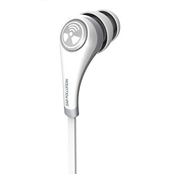 Ifrogz Earphone Plugz Mobile With Mic White | BaRRiL