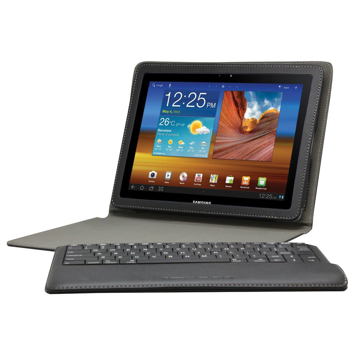"Body Glove Bluetooth Keyboard N8000 Galaxy Note 10.1"", Accessories, Body Glove, BaRRiL - BaRRiL"