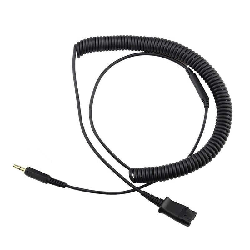 Calltel Quick Disconnect 3.5mm Jack Cable