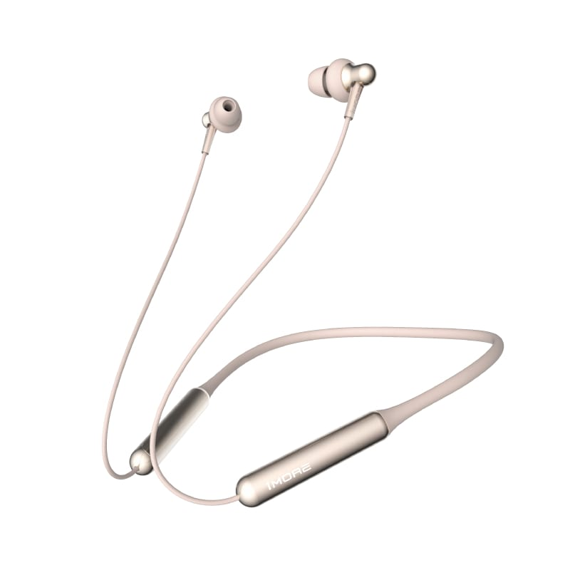1MORE Stylish E1024BT Dual Driver Bluetooth In-Ear Headphones - Gold