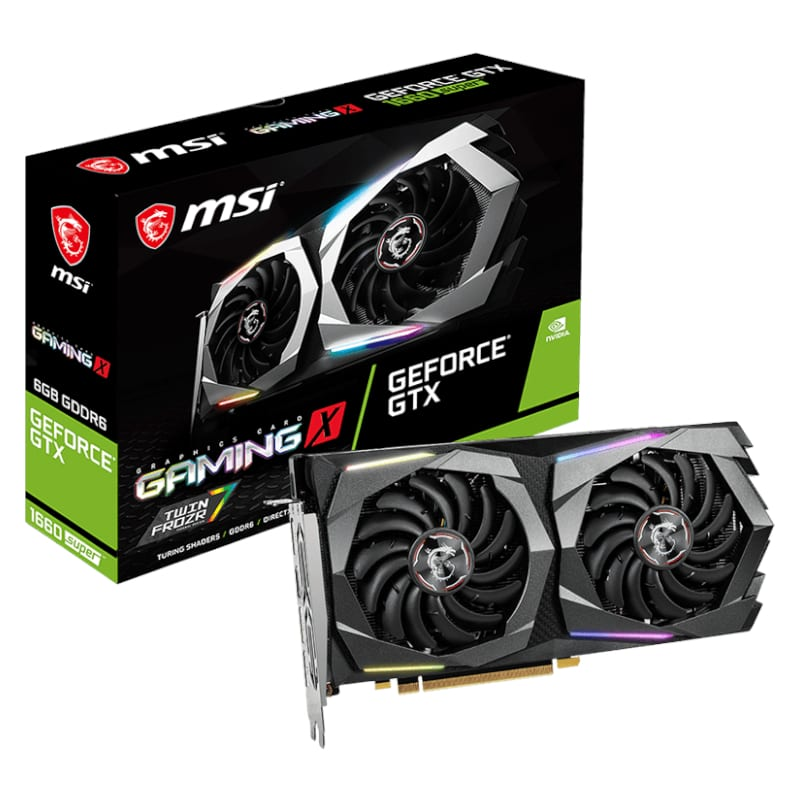 Msi Gf Gtx 1660 6 Gb Gddr6 192 Bit Ml