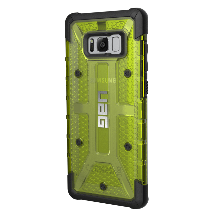 UAG Plasma Case - Galaxy S8+ Citron Yellow | BaRRiL