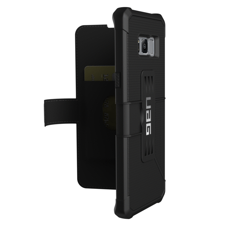UAG Metropolis Case - Galaxy S8+ Black | BaRRiL