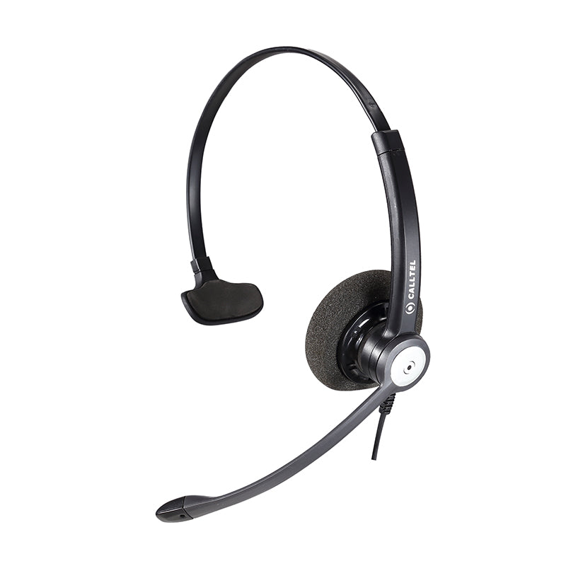 Calltel Hw333 N Mono Ear Noise Cancelling Headset Quick Disconnect Connector