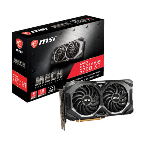 MSI Radeon RX 5700 XT Mech 8GB GDDR6 256-BIT Graphics Card