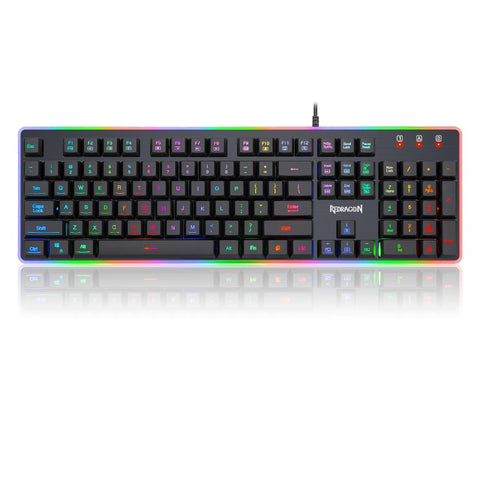 Redragon DYAUS RGB Gaming Keyboard - Black