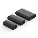 RAVPOWER 3350mAh|6700mAh|10050mAh 3 Pack Power Bank - Blac