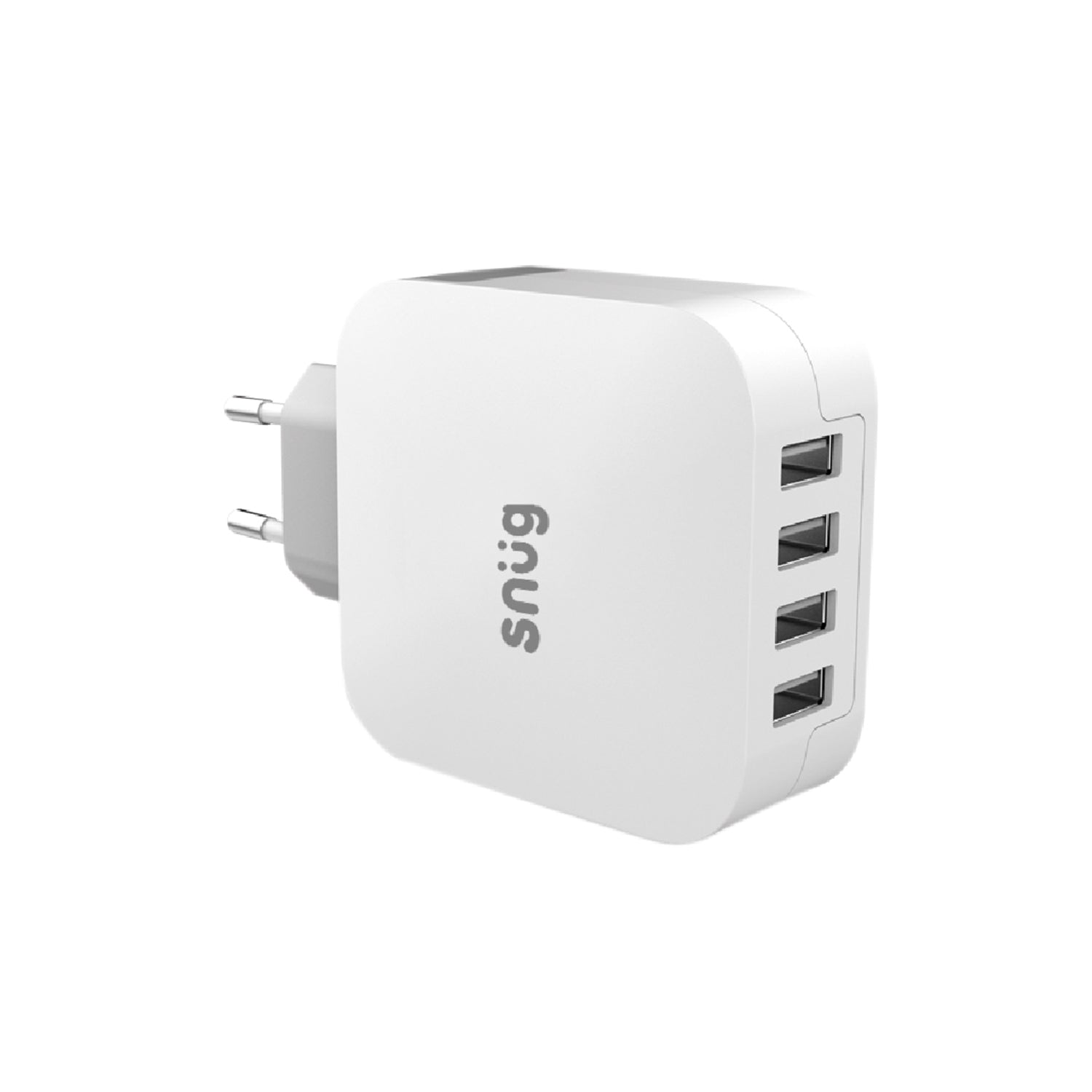 Snüg Home Charger 4 USB Port 4.8 Amp Charger