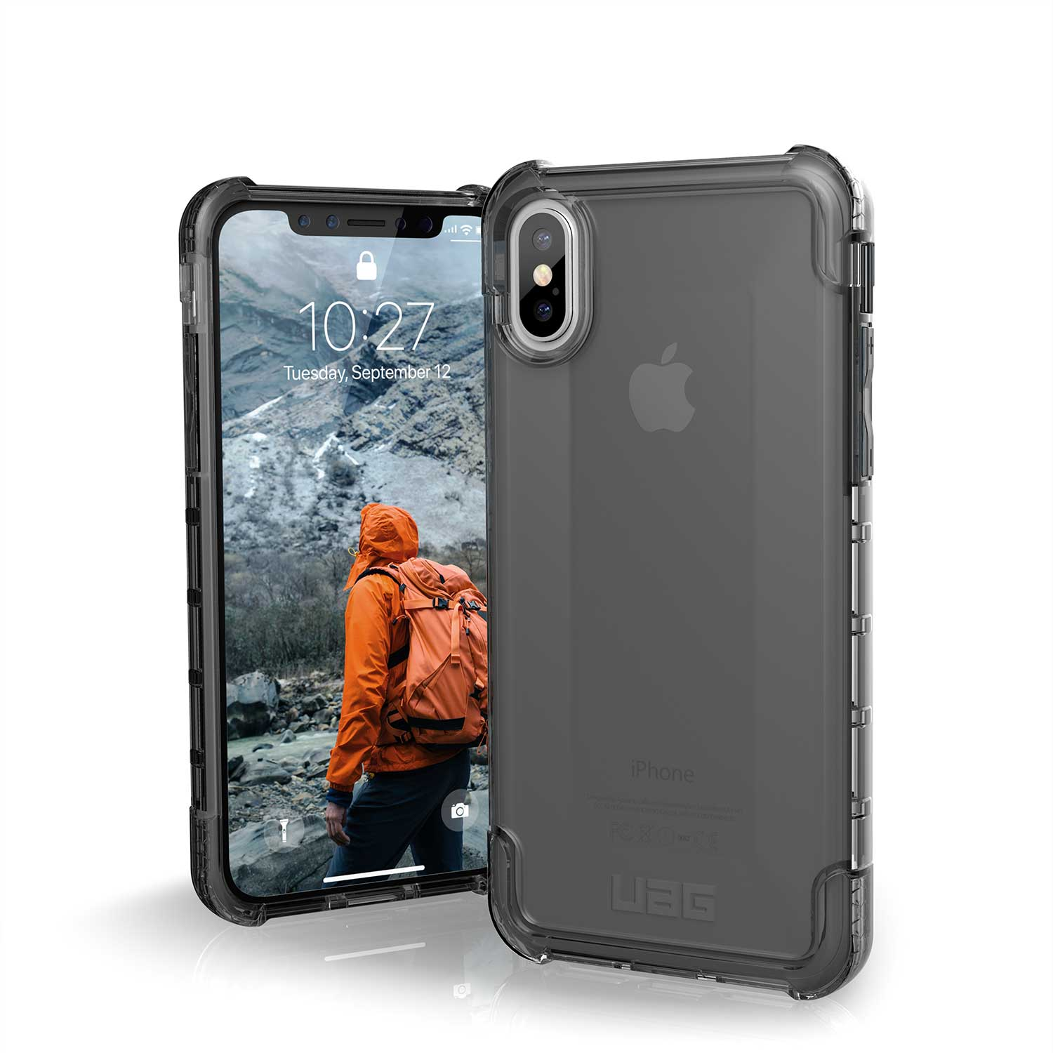UAG IPHONE X PLYO CASE ASH GREY | BaRRiL