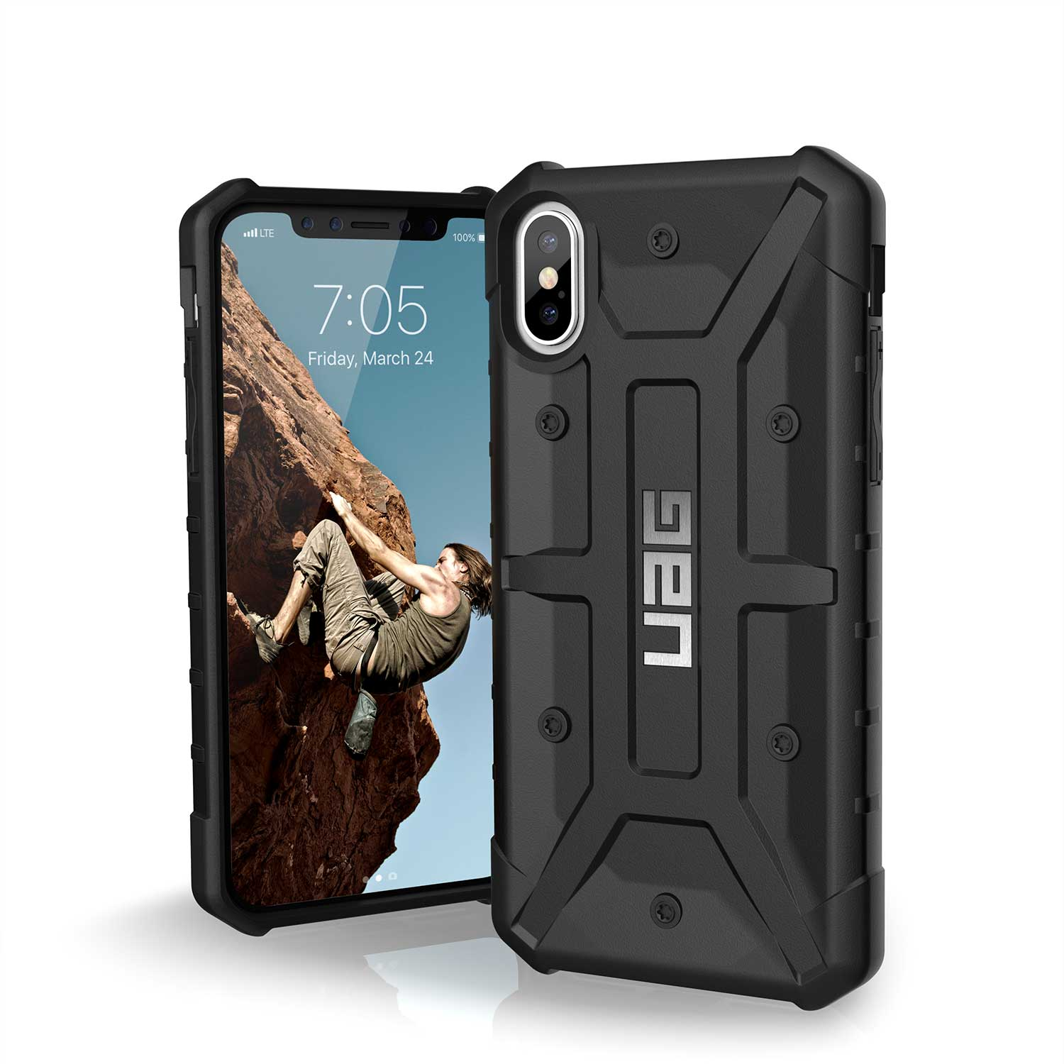 UAG IPHONE X PATHFINDER CASE BLACK | BaRRiL