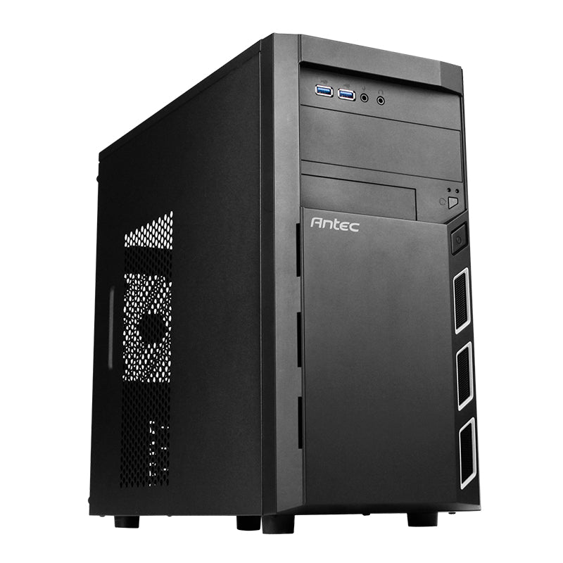 Antec Vsk3000 Elite (Gpu 335mm) Micro Atx|Mini Itx Chassis Black