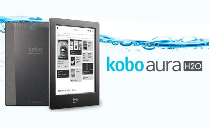BaRRiL Kobo Aura H2O is the first premium eReader that truly allows for worry-free eReading because of its water & dustproof design.