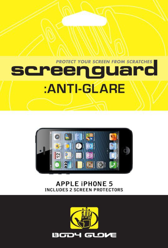 Body Glove Antiglare Screen Guards  5/5S/Se Anti Glare, Accessories, Body Glove, BaRRiL - BaRRiL