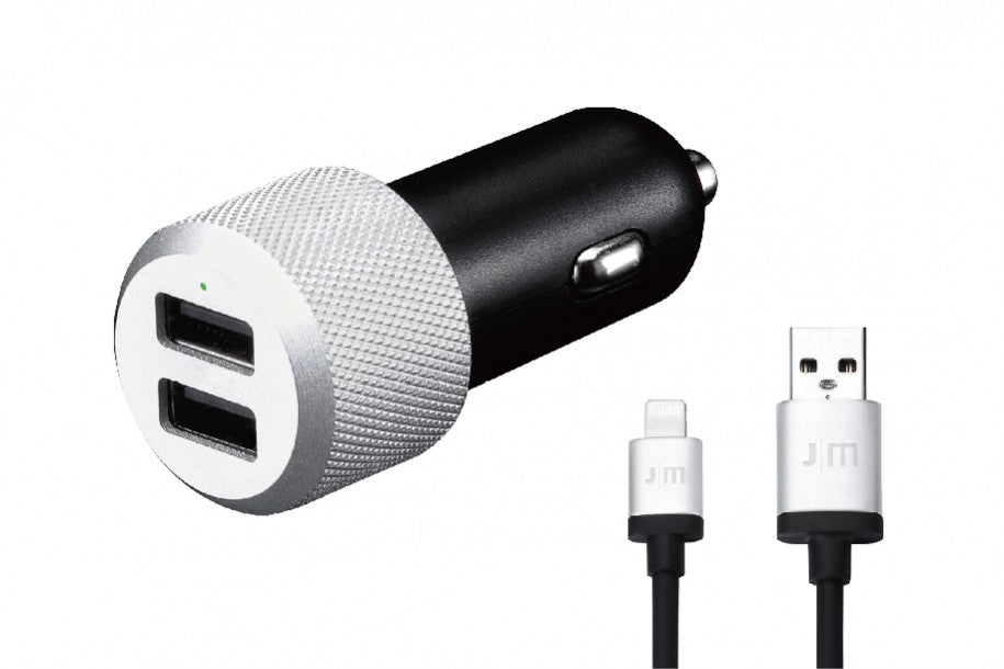 Just-Mobile Highway Max + Coiled Lightning Cable