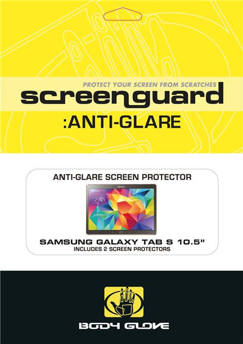 "Body Glove Antiglare Screen Guards Galaxy Tab S 10.5"", Accessories, Body Glove, BaRRiL - BaRRiL"
