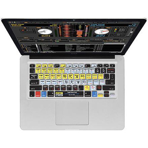 KB Covers Serato Scratch Live Kb Cover For Macbook