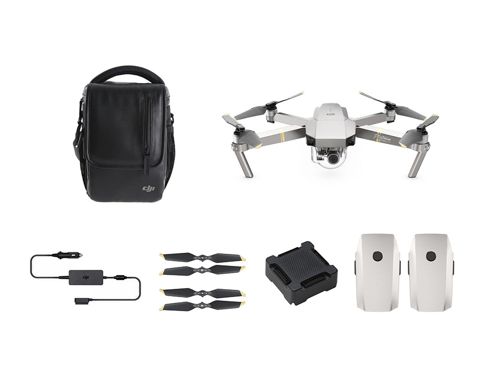 DJI Mavic Pro Platinum Fly More Combo  | BaRRiL