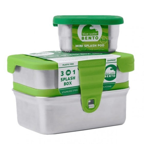 3 in 1 Splash Box - Brooddoos - Eco Lunchbox