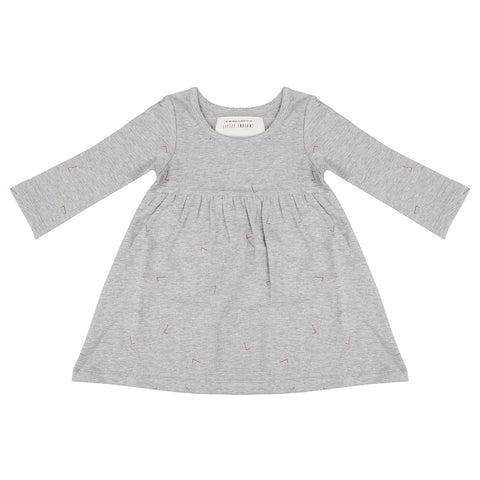 Dress Angle - Grey Melange - Little Indians