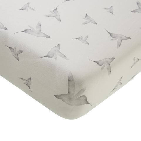 Hoeslaken wieg fitted sheet little dreams Mies & Co
